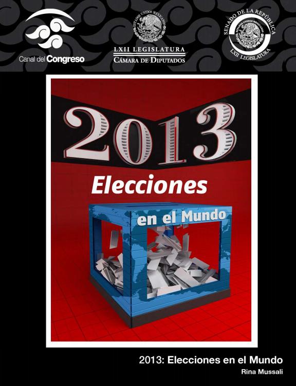 2013 Elecciones en el mundo